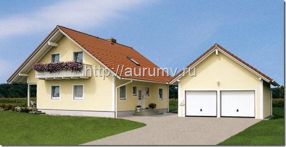 дом кантри 130 фасад2