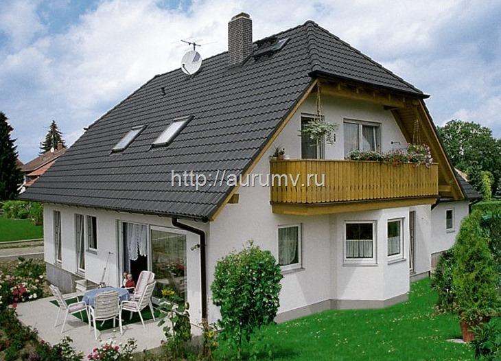фасад дома - это не проект для сметы!