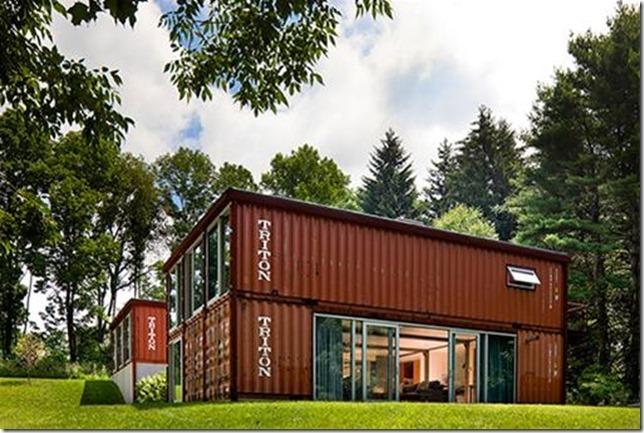 здание из контейнеров фото
