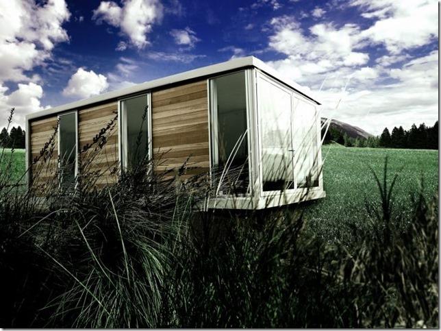 дом контейнер