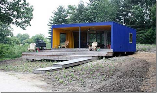 модульный дом фото