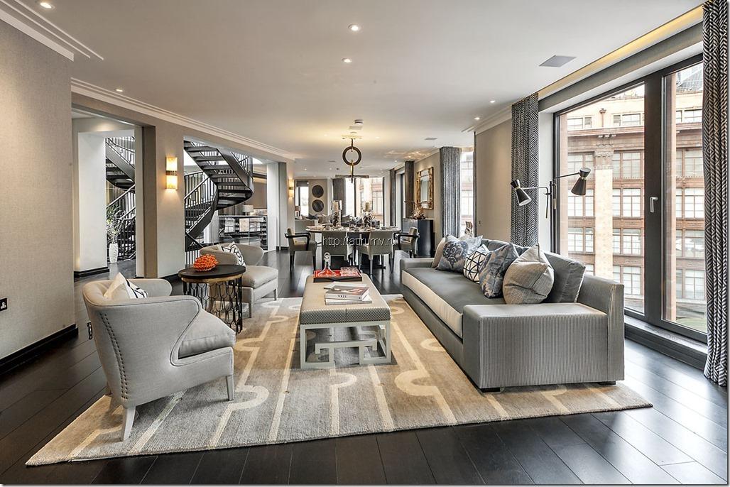 современный ремонт элитной квартиры