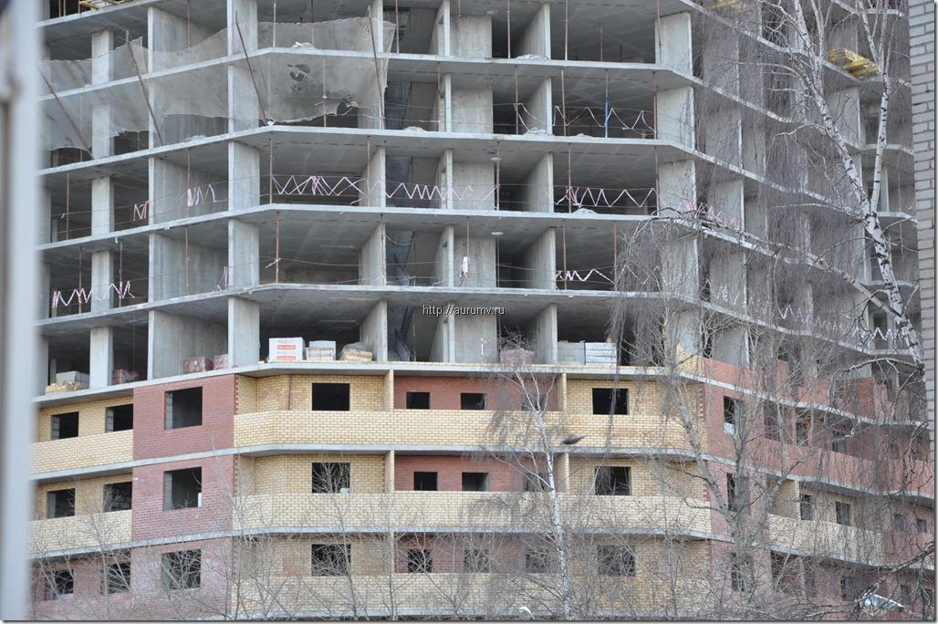 Строительство монолитно-кирпичного жилого дома