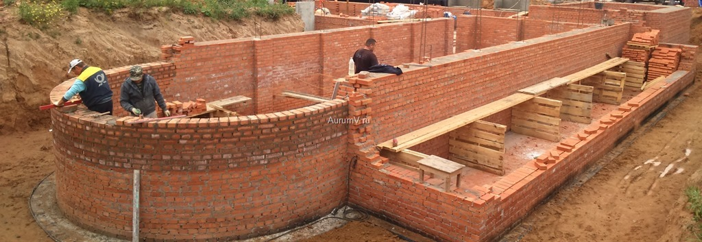 Фото процесса строительства домов в Москве и Московской области