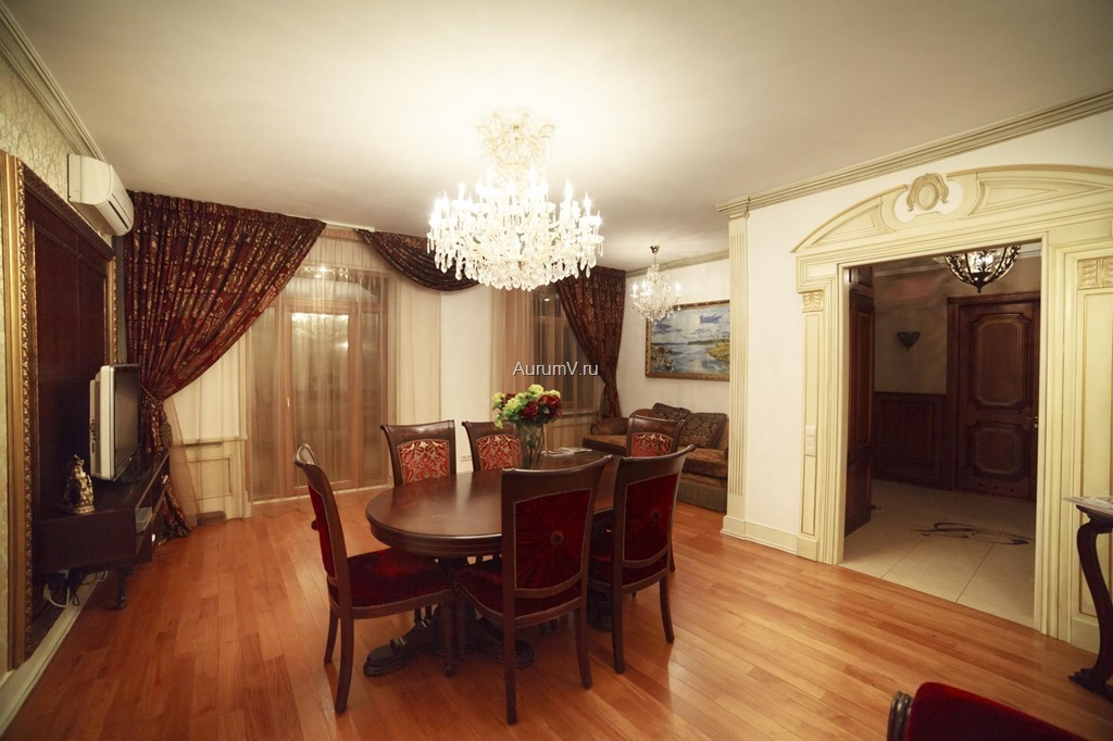 Ремонт квартиры в классическом стиле Москва