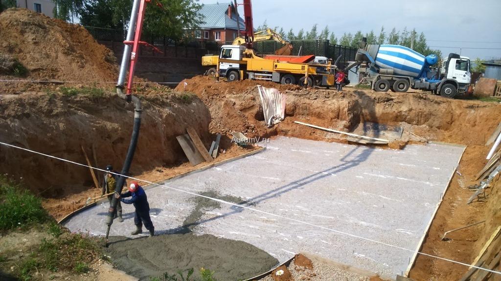 Процесс строительства домов Москва