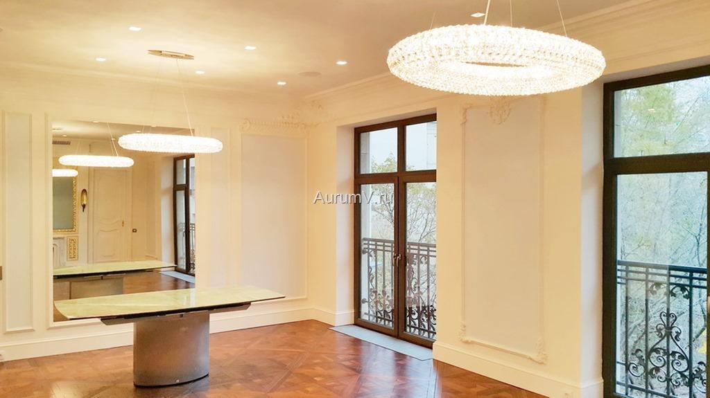 Отделка элитной квартиры по дизайн-проекту
