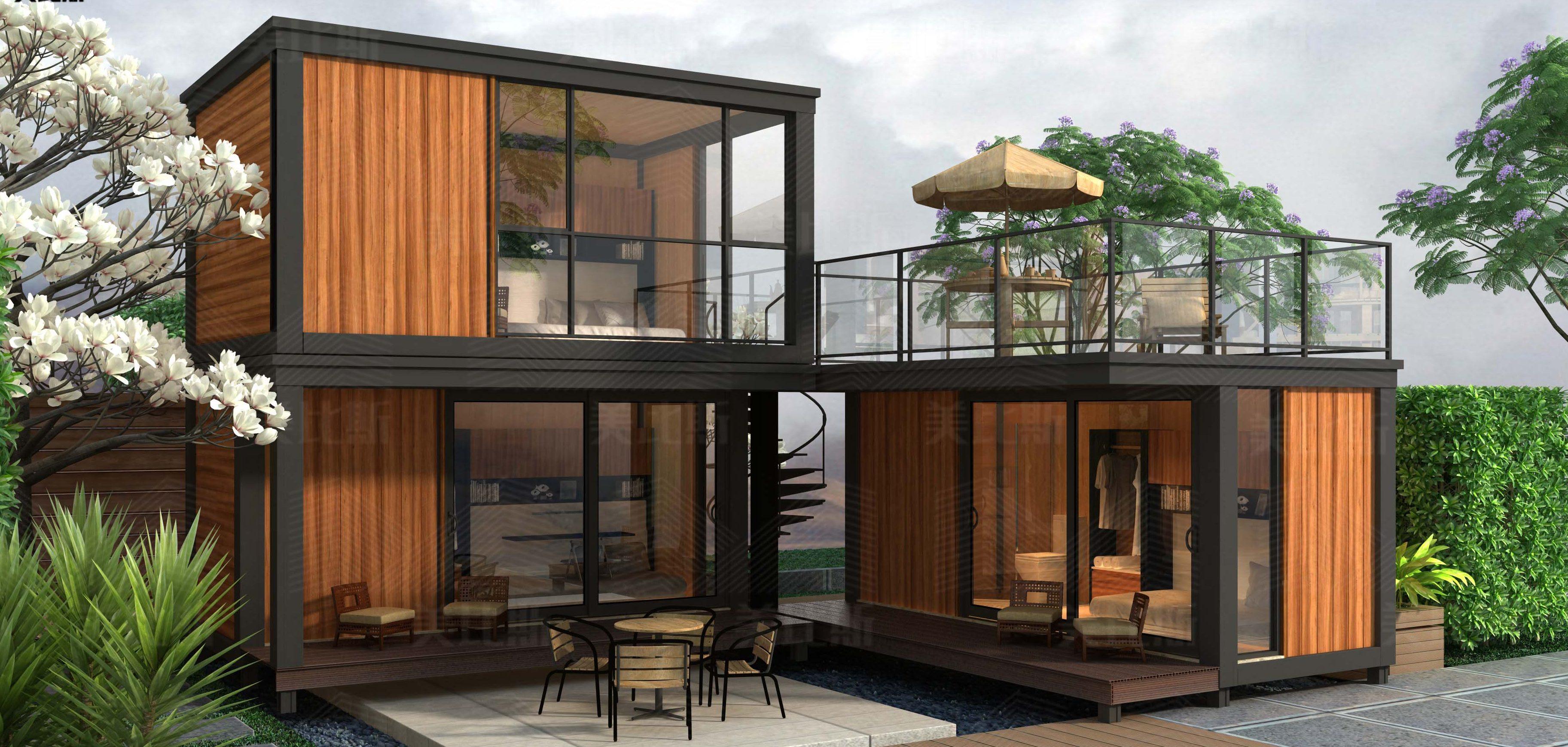 Контейнерный дом проект