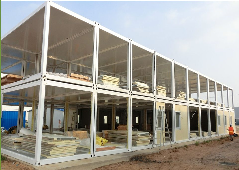 Модульный дом из новых контейнеров