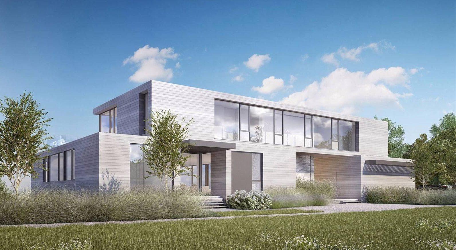 Современный проект большого дома