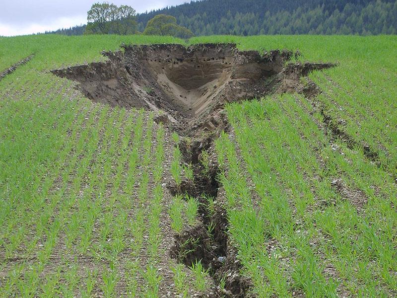 эррозия почв