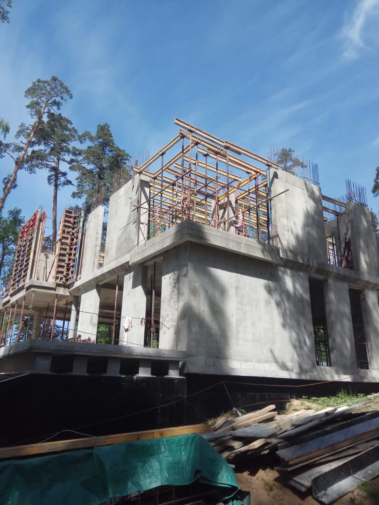 Домов больших строительство фото