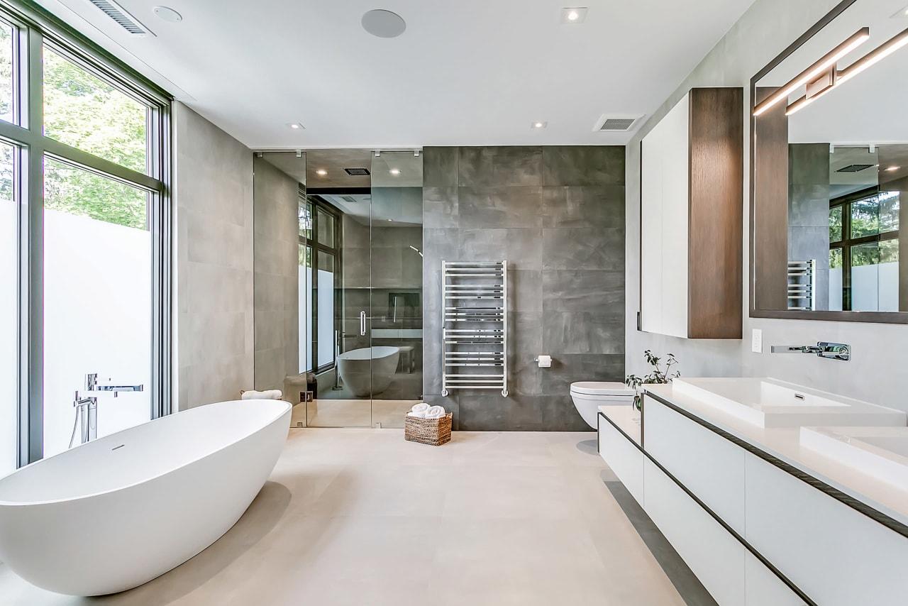 Ремонт домов: фото ванной комнаты