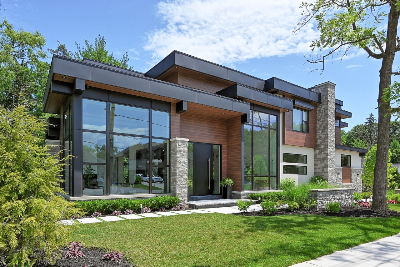 Строительство домов по современному проекту