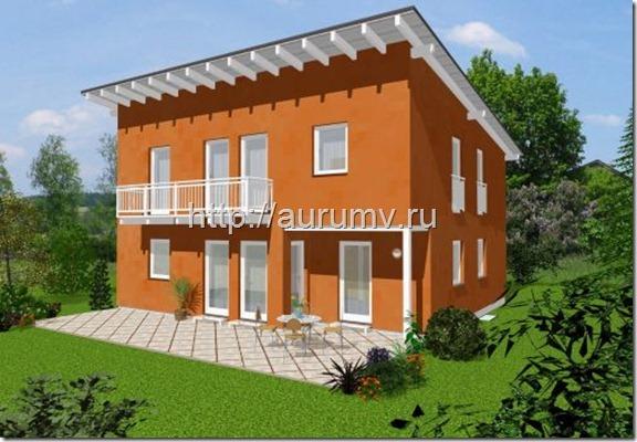 Энергоэффективный дом 150 м2 фасад