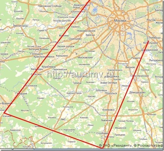 границы линейной Москвы