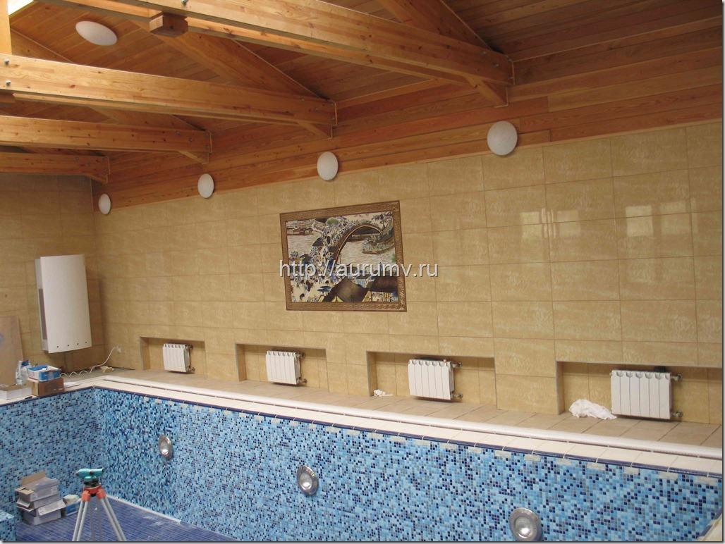 бассейн простроен под ключ