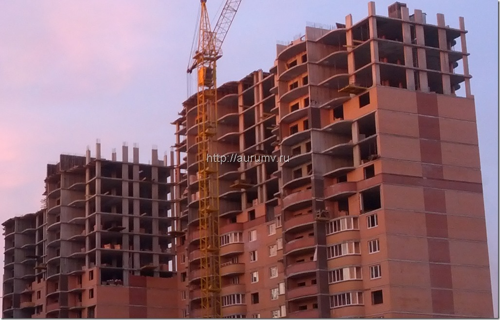 строительство монолитных домов фото
