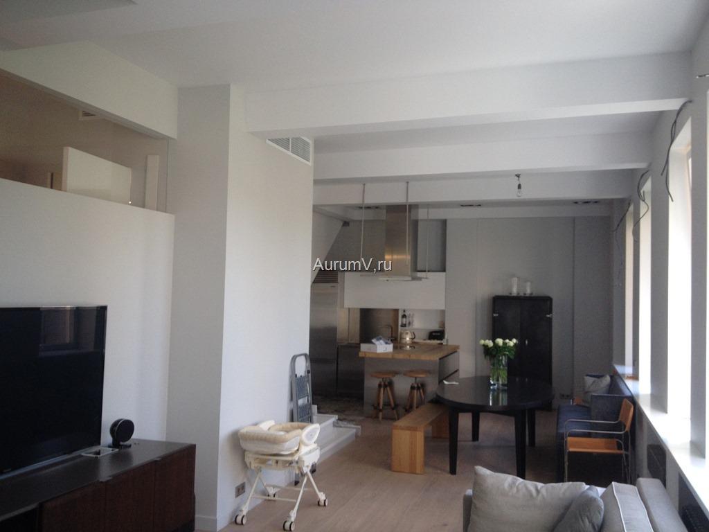 Отделка большой элитной квартиры в Москве